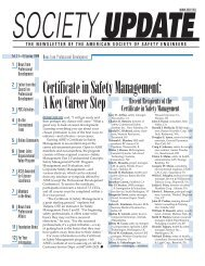 Q - American Society of Safety Engineers