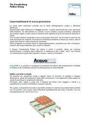 Impermeabilizzanti di nuova generazione - Portale Design ...
