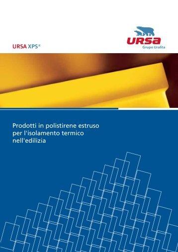 Prodotti in polistirene estruso per l'isolamento termico nell'edilizia