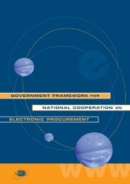 APCC PUB_Government Framework for National CoOp on ...
