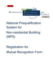 NPS Registration for Mutual Recognition Form - Australian ...