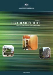 ESD design guide for Australian Government buildings: Edition 2