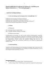 Sozialkunde für Wirtschaftspädagogen