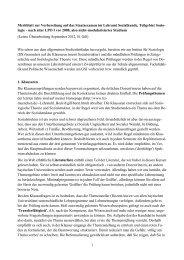 Merkblatt zur Examensvorbereitung