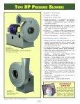 Type HP Pressure Blowers - New York Blower - Page 2