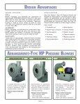 Type HP Pressure Blowers - New York Blower - Page 3