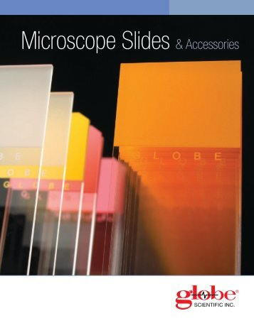 Microscope Slide Brochure - Globe Scientific