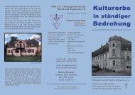 Kulturerbe Bedrohung - Fördergemeinschaft Recht & Eigentum eV