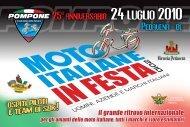 25o anniversario 24 luglio 2010 - Moto Morini Club Nederland