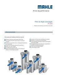 Filtro de dupla comutação Pi 210 - MAHLE Industry