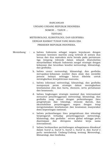 rancangan undang-undang republik indonesia nomor ... tahun ...