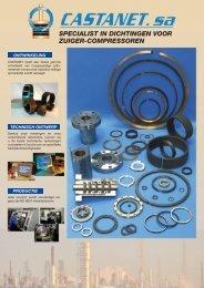 specialist in dichtingen voor zuiger-compressoren - Castanet SA