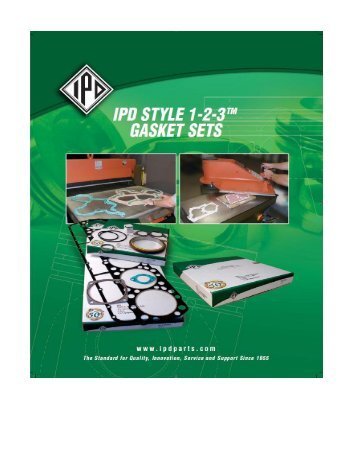 Click here for IPD Style 1-2-3™ catalog download - from IPD