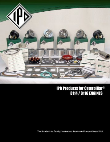 CATERPILLAR® 3114/3116 ENGINES - from IPD
