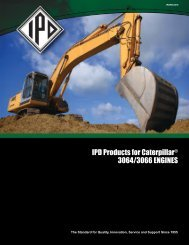 Product Bulletin - IPD Remanufactured Fuel Injection For