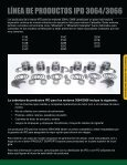 Productos IPD para Caterpillar® MOTORES 3064/3066 - from IPD - Page 3