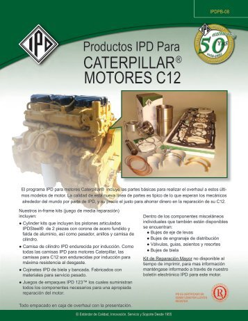 CATERPILLAR® MOTORES C12 - from IPD