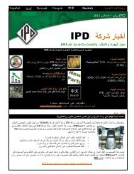 NEWSLETTER TRANSLATIONS: - from IPD