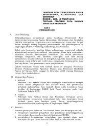 1- lampiran peraturan kepala badan meteorologi ... - BMKG