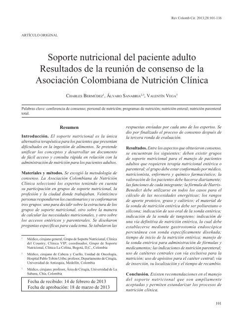 articulos de nutricion pdf scielo