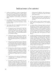 Indicaciones a los autores - Asociación Colombiana de Cirugía