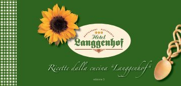Ricette 2010 - Hotel Langgenhof