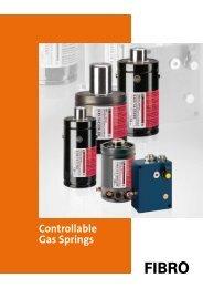 Controllable Gas Springs - Fibro GmbH
