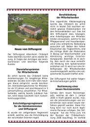Ausgabe August Teil 2 - Altersheim Chlösterli, Unterägeri