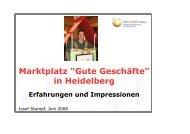 MGG HD_ Praesentation - Gute Geschäfte Heidelberg