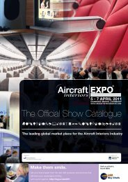 great view with our (s)pecialists - Aircraft Interiors Expo