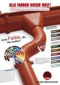 PREFA Dachrinnen aus farbbeschichtetem Aluminium - Seite 3