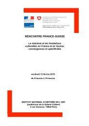 RENCONTRE FRANCO-SUISSE du vendredi 12 février 2010 à