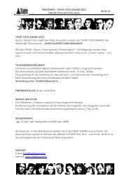 Download Presseinfo - Teddy Award
