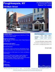 Poughkeepsie, NY 319 Main Street - Royal Properties, Inc.