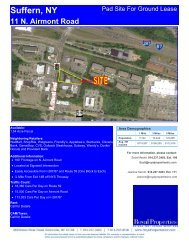 Suffern, NY 11 N. Airmont Road - Royal Properties, Inc.