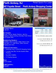 Perth Amboy, NJ - Royal Properties, Inc.