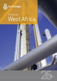 A focus on - West Africa - Gas Strategies