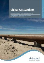 Global Gas Markets - Gas Strategies