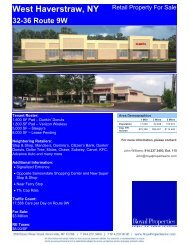 West Haverstraw, NY 32-36 Route 9W - Royal Properties, Inc.