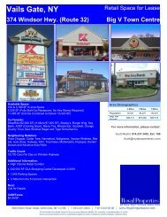 374 Windsor Hwy. (Route 32) Big V Town Centre - Royal Properties ...