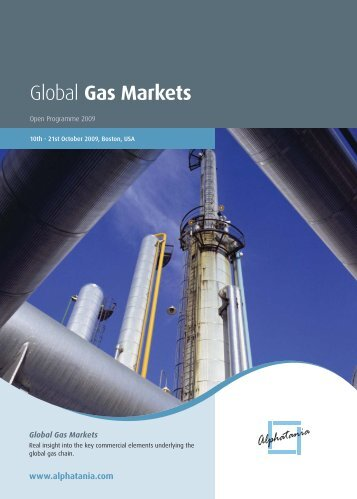 Global Gas Markets - Gas Strategies