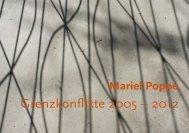 Katalog (pdf, 2,7 MB) - Mariel Poppe