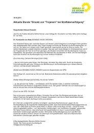 Aktuelle Stunde – Einsatz von Trojanern bei Straftatenverfolgung (pdf)