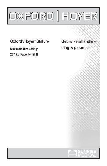 Gebruikershandlei- ding & garantie