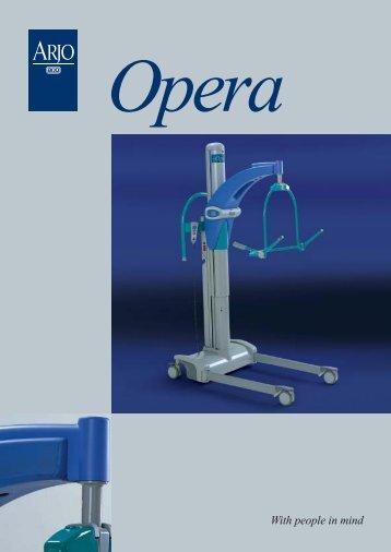 Download Arjo Opera Brochure - Disability Hoist Hire
