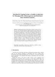 InterDataNet Naming System: a Scalable Architecture for Managing ...