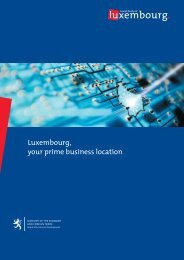 Luxembourg, your prime business location. - Indian Business ...