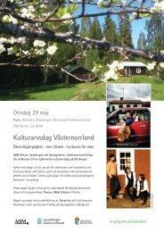 ABM Kulturarvsdag - Kulturarv Västernorrland