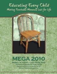 2010 MEGA Conference - Alabama Department of Education