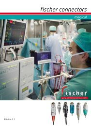 Fischer Medical Connectors Catalog